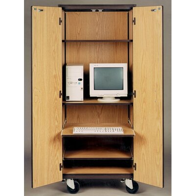 Ironwood 4000 Series Computer Center Mobile Cabinet