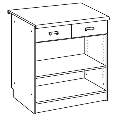 Ironwood Vision Series Two-Drawer Unit