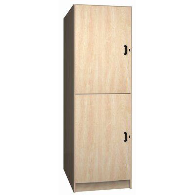 Ironwood Solid Melamine Door Music Storage: 2 Equal Compartments