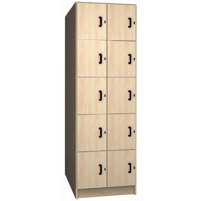 Ironwood Solid Melamine Door Music Storage: 10 Compartments