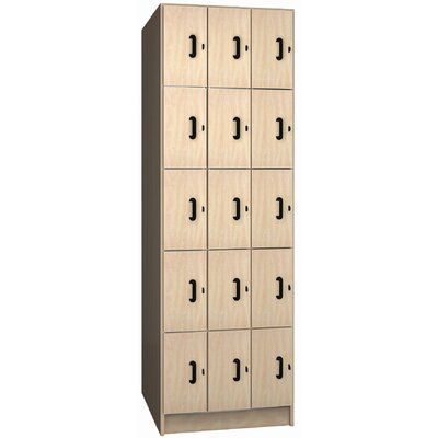 Ironwood Solid Melamine Door Music Storage: 15 Equal Compartments