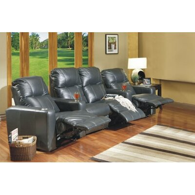 Omnia Furniture Portland Home Theater Seating (Row of 4)