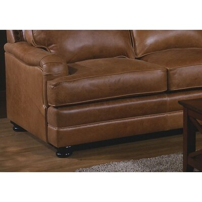 Omnia Furniture Pantera Leather Sectional