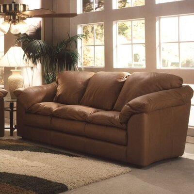 Omnia Furniture Oregon Leather Sofa