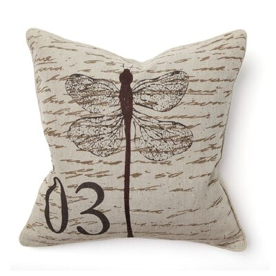 Villa Home Provence Dragonfly Pillow