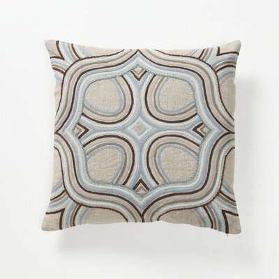 Villa Home Global Bazaar Artista Pillow in Blue