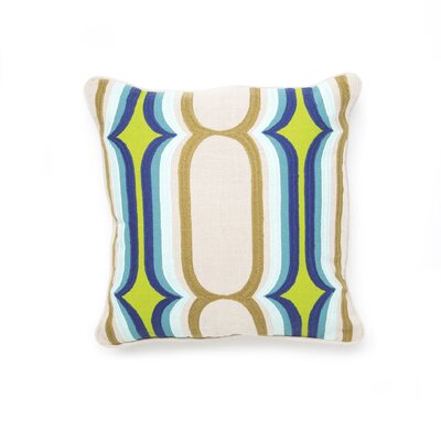 Villa Home Carnaby Street Linen Doti Accent Pillow