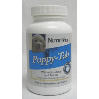 Nutri Vet Nutritionals Puppy Tab Dog Care