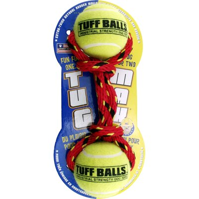 Petsport USA Tuff Balls Max Tug Max Dog Toy