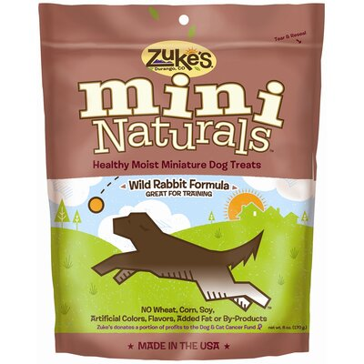Zukes Mini Naturals Wild Rabbit Dog Treat