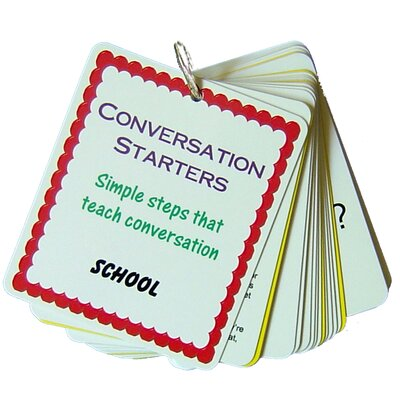Natural Learning Concepts Conversation Starters - School