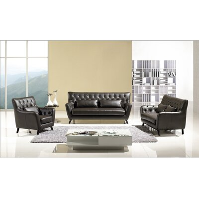 Hokku Designs Chester Sofa Set