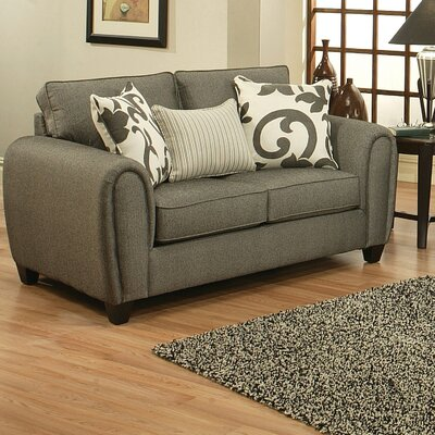Hokku Designs Central Chenille Loveseat