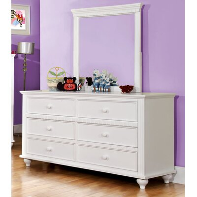 Hokku Designs Kennedy 6 Drawer Dresser