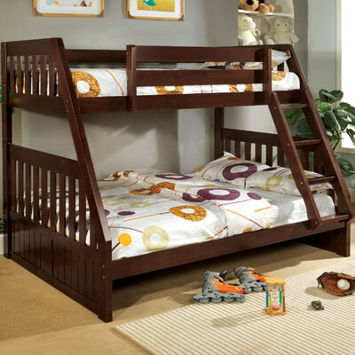 Hokku Designs Logan Twin Over Full Bunk Bed