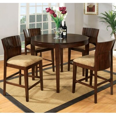Hokku Designs Modest 5 Piece Counter Height Dining Set