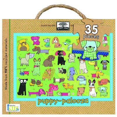 Green Start Item 35 Oversized Piece Puppy Palooza Floor Puzzle