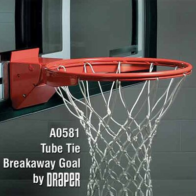 Draper Tube Tie Breakaway Basketball Goal