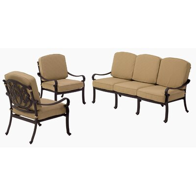 AIC Garden & Casual Kingston 4 Piece Deep Seating Group