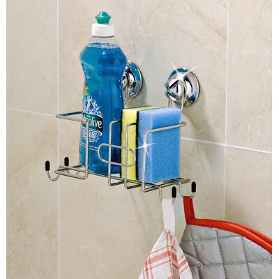 Everloc Suction Cup Kitchen Sink Caddy