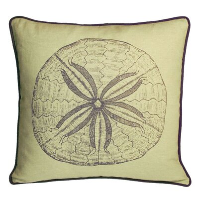 Kevin O'Brien Studio Sand Dollar Decorative Pillow