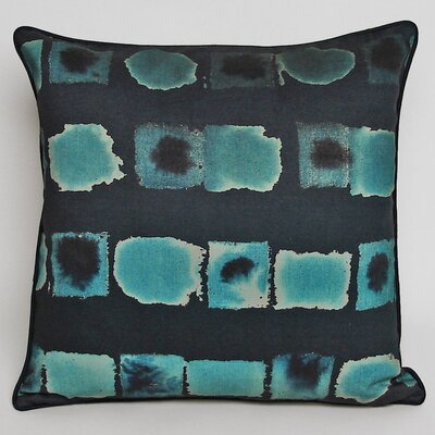Kevin O'Brien Studio Deckled Squares Decorative Pillow