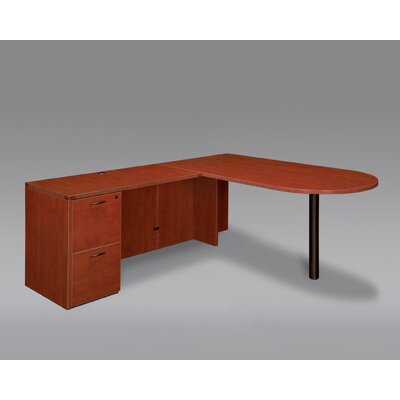 DMI Office Furniture Fairplex Right / Left Bullet L Executive Desk