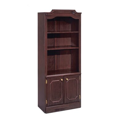 "DMI Office Furniture Governor's 74"" H Two Shelf Bookcase"