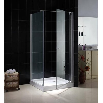 Dreamline Tetra Pivot Door Shower Enclosure