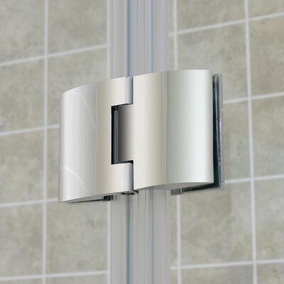 Dreamline Aqua Frameless Hinged Tub Door