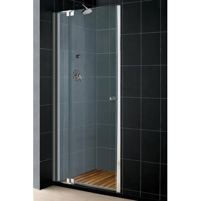 Dreamline Allure 3/8&quot; Frameless Pivot Sliding Shower Door