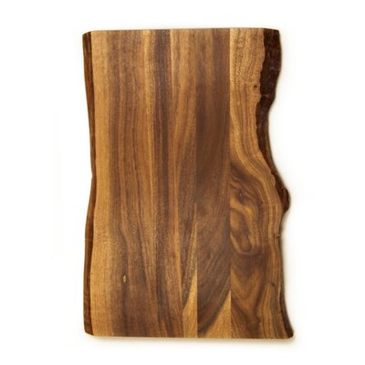 Acacia Raw Edge Gripper Cutting Board