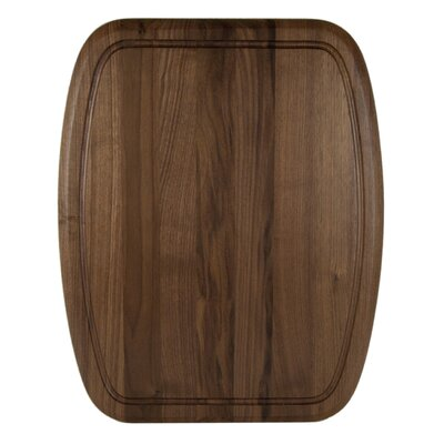 Architec Luxe Grip Wood Cutting Board in Walnut
