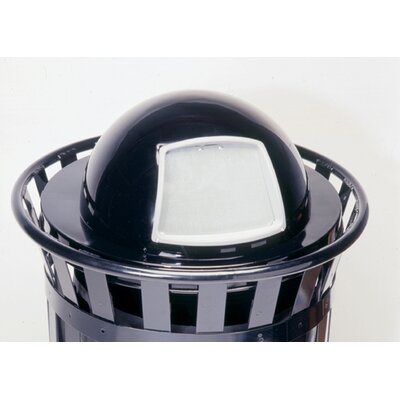 Witt Stadium Series SMB Round 36 Gallon Receptacle with Dome Top Lid