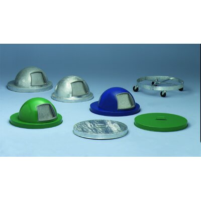 Witt Expanded Metal Series Heavy Duty Dome Top Cover