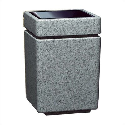 Witt Stadium Series PLC 35 Gallon Square Trash Top Load
