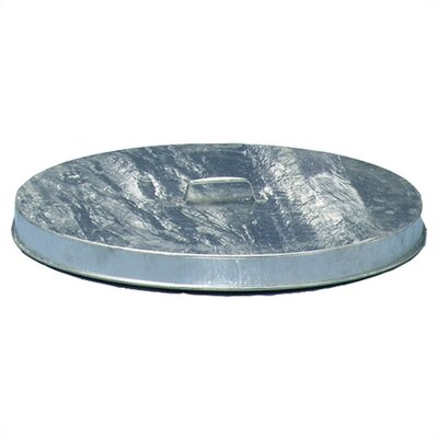 Witt Heavy Duty Flat Top Galvanized Drum Lids (Fits 55 Gallon Drum)