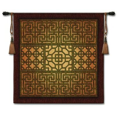 Fine Art Tapestries Eastern Lattice Wall Hanging