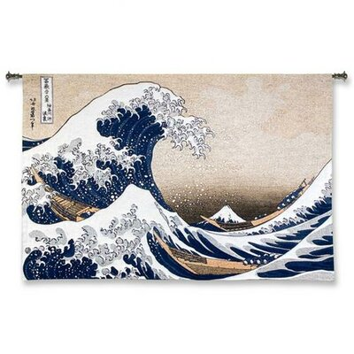 Great Wave at Kanagawa Large Wall Hanging