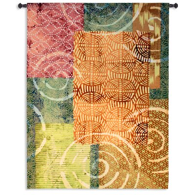 Fine Art Tapestries Tribal Beat Tapestry