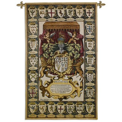 Armes Of Kings Tapestry
