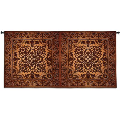 Double Iron Work Horizontal Tapestry