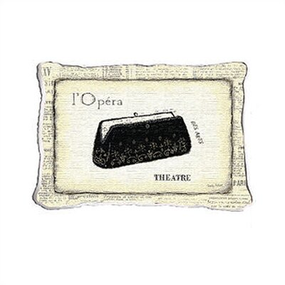 Fine Art Tapestries L'Opera Pillow
