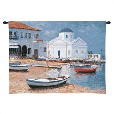 Fine Art Tapestries Mykonos I Tapestry  - George Bates