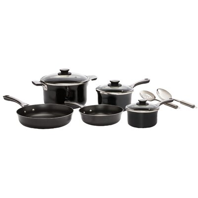 Authentic Porcelain enamel 10-Piece Cookware Set