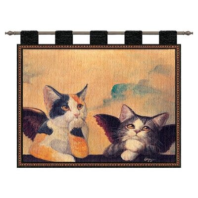 Pure Country Weavers Cherub Cats Tapestry