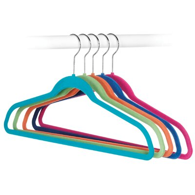 Whitmor, Inc Flocked Suit Hangers (Set of 5)