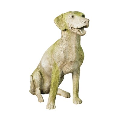 Animals Dalmatian Sitting Statue