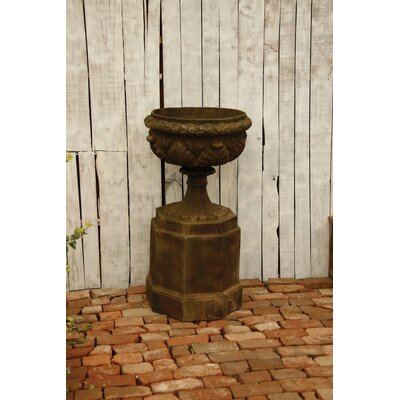 Regency Urn On Pedestal Planter