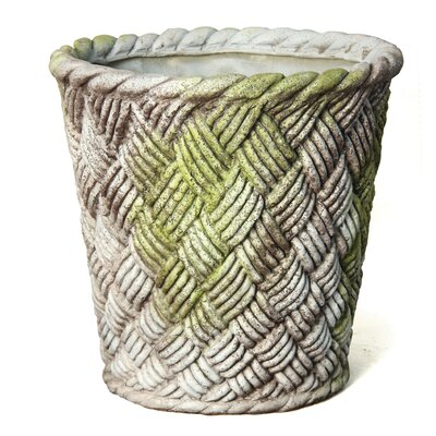 Small Nied Weave Basket Round Planter